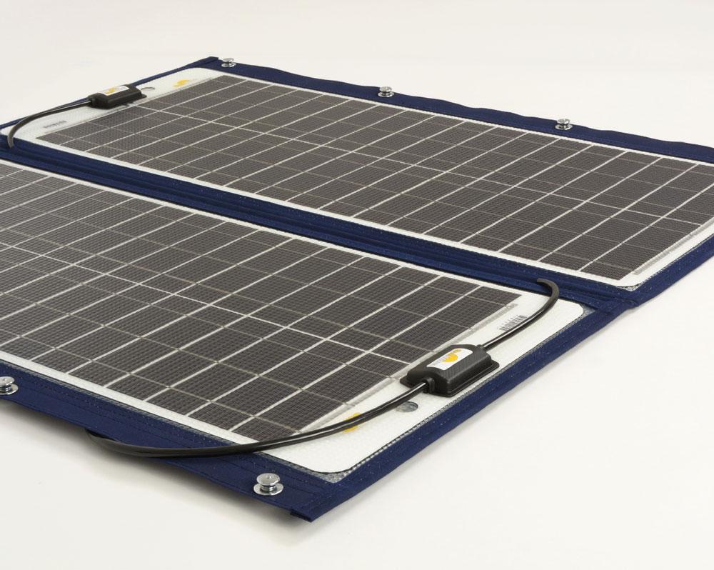 Sunware TX-22039 Solarmodul mit Textilrahmen 76Wp
