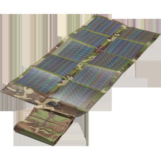 Faltbares Solarmodul CIGS 30Wp Camo Woodland