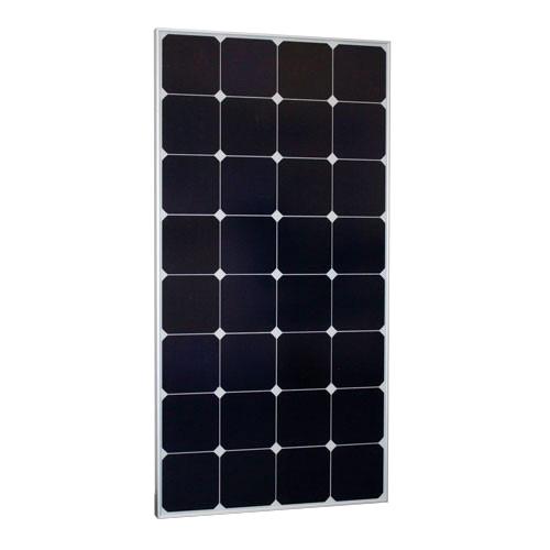 PN SPR 120 monokristallines SPR Solarmodul 120Wp, Rahmen silber