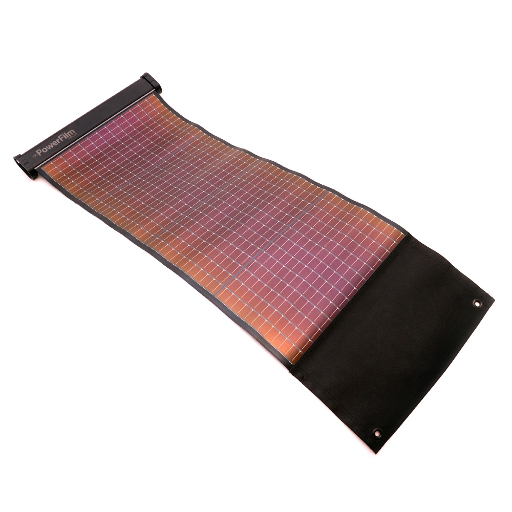 LightSaver Max - rollbares Solarmodul mit Akku, USB + 12V