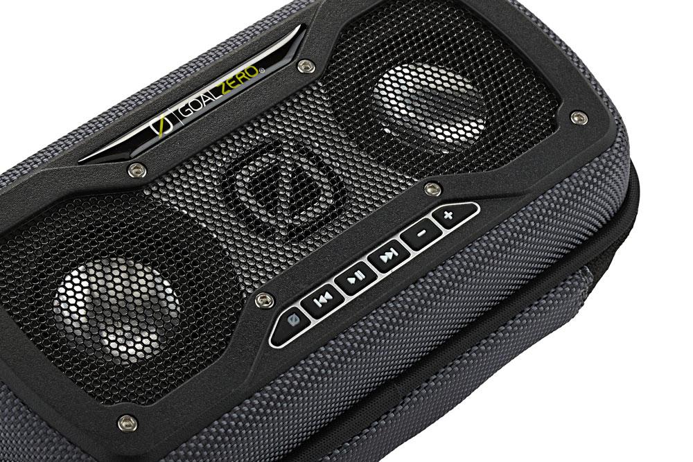 Rock Out 2 Wireless - Stereolautsprecher mit Bluetooth grau