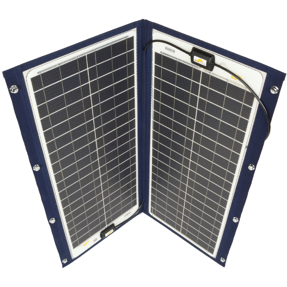 Sunware TX-22052 Solarmodul mit Textilrahmen 100Wp