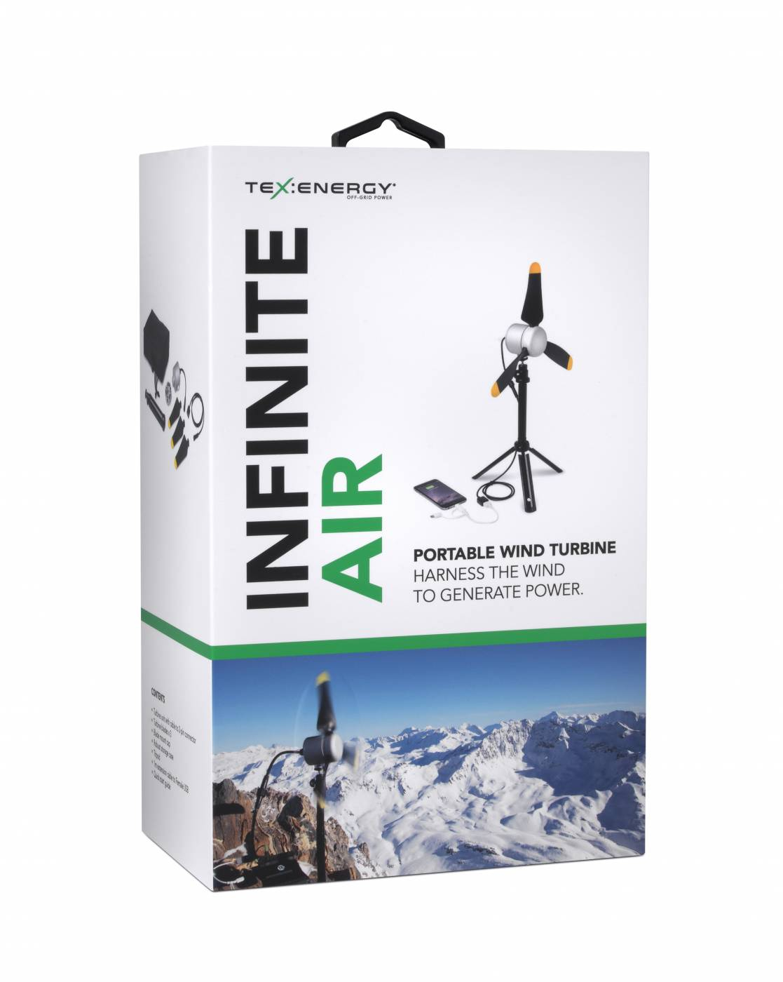 Infinite Air - mobiles USB Windrad