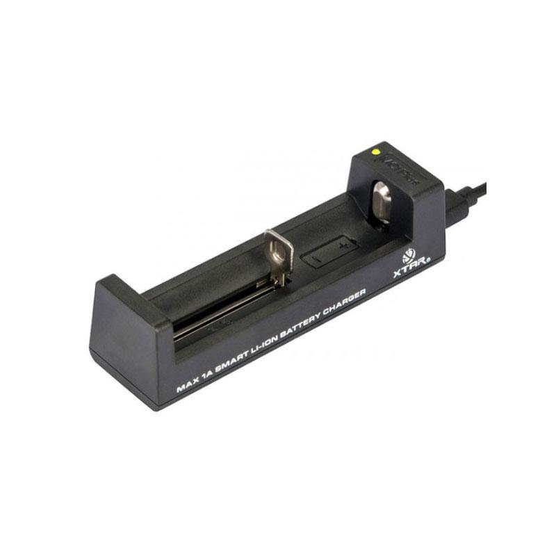 ANT - MC1 Plus 1-Schacht USB-Ladegerät für Li-Ion Akkus