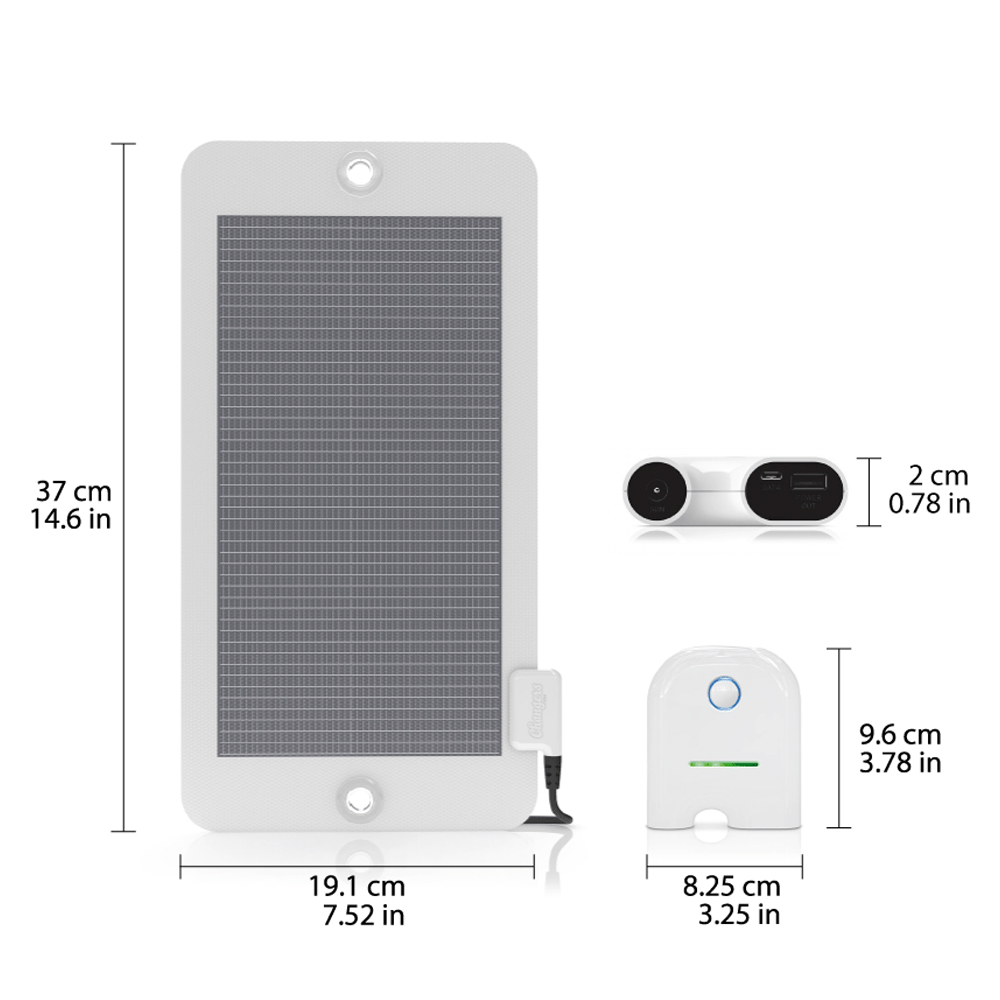 Changers Solar Starter-Kit 4Wp