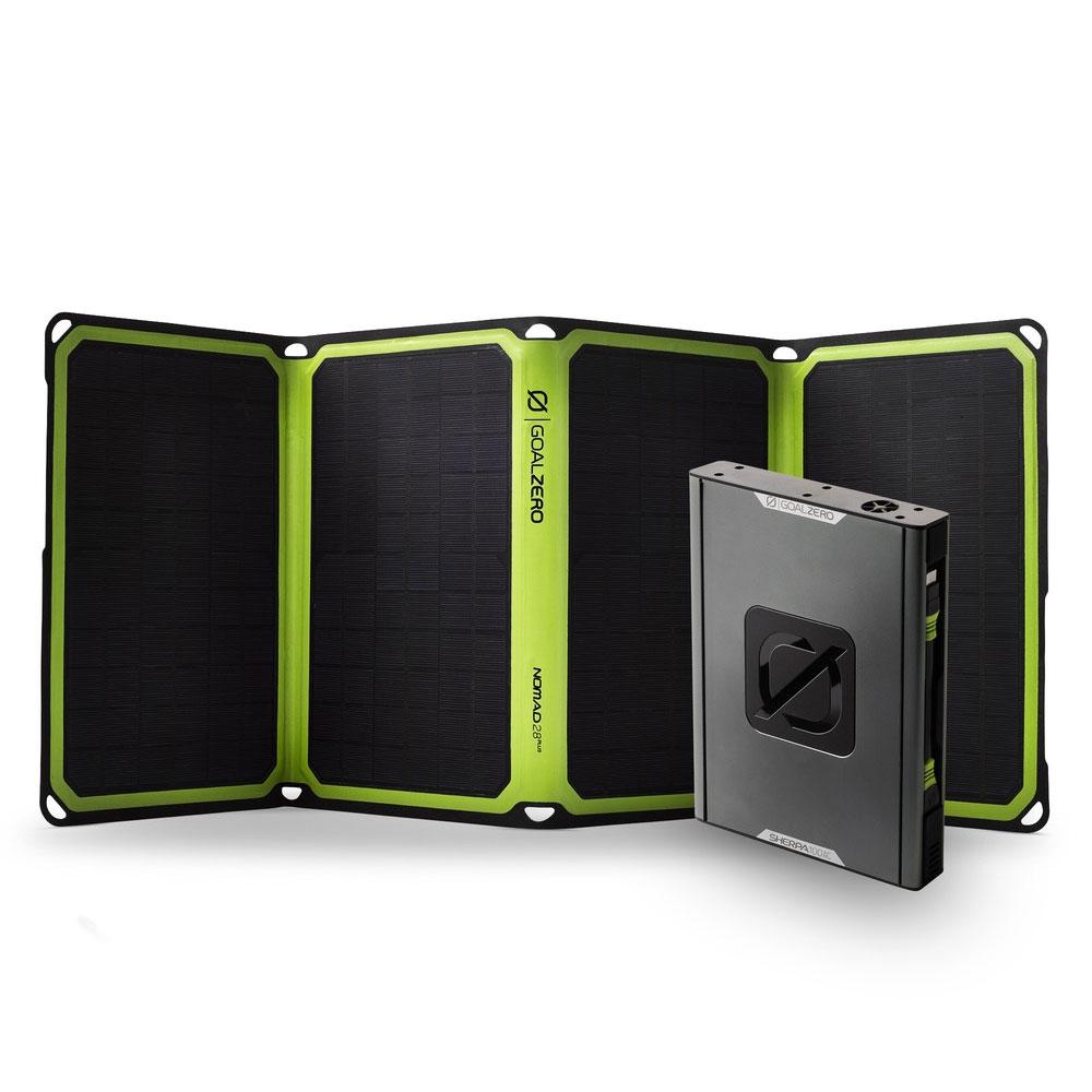Sherpa 100AC Solar Kit mit Nomad 28 Plus