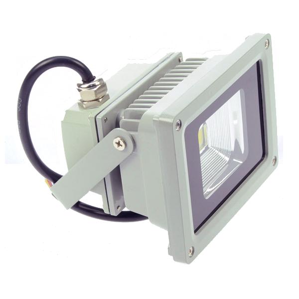 12V Multichip LED Flutlichtstrahler 10W ww