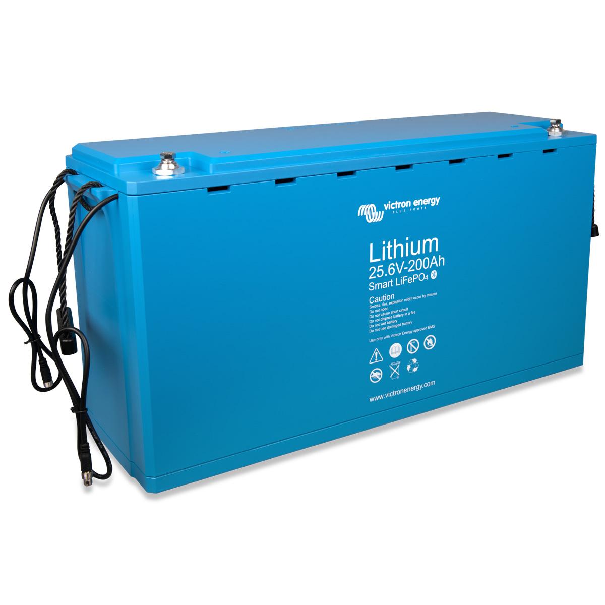 Victron LiFePo4 Akku 25,6V / 200Ah - Smart