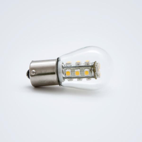 Green Power LED Bajonettsockel BA15 1,5W 300°