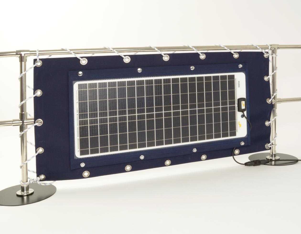 Sunware TX-12052 Solarmodul mit Textilrahmen 50Wp