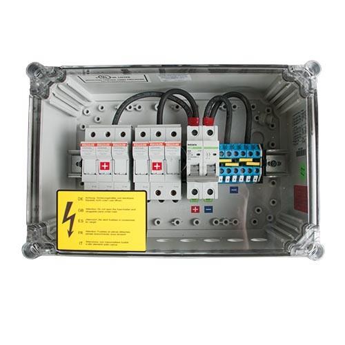 Generator-Anschlusskasten GJB4 für 4 Strings