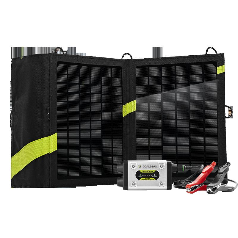 Guardian 12V + Nomad 13 Solar Recharging Kit