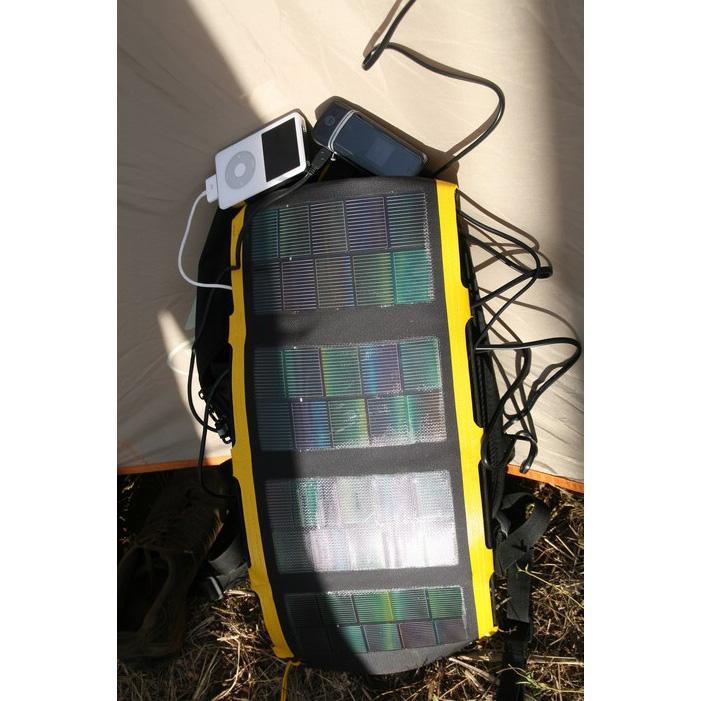 Minigorilla + SolarClaw 6Wp Trekking Solarladegerät