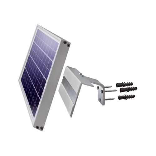 Wandhalterung für gerahmte 10W Solarmodule