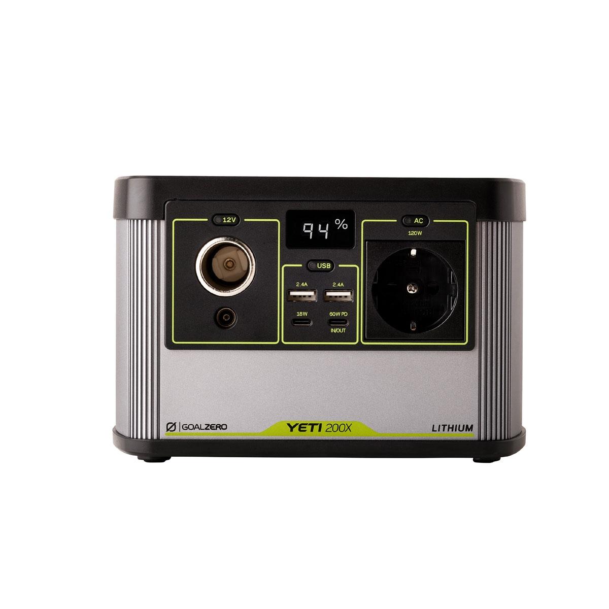 Yeti 200X Solar Generator