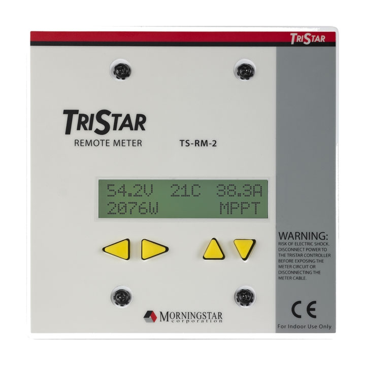 Morningstar TriStar Remote Meter TS-RM-2