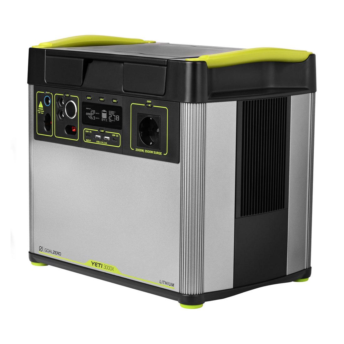 Yeti 3000X Solar Generator