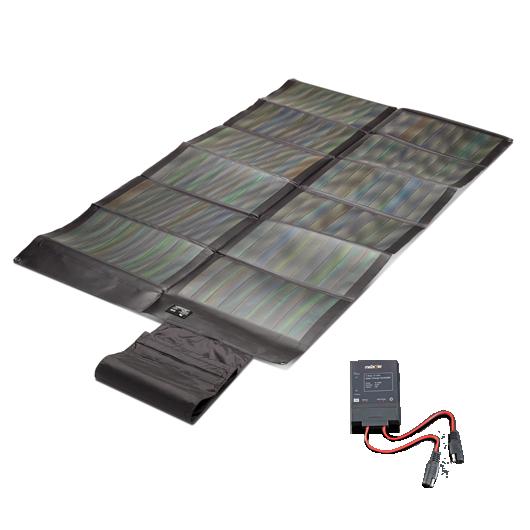 Faltbares CIGS Solarmodul 62Wp + Controller