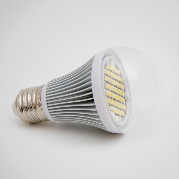 Green Power LED SMD-Globe E27 4,5W 180° klar