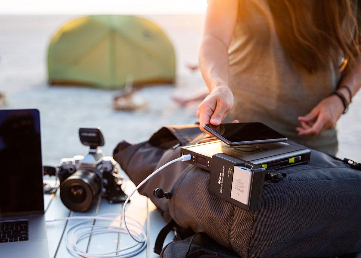 Sherpa 100AC Solar Kit mit Nomad 20