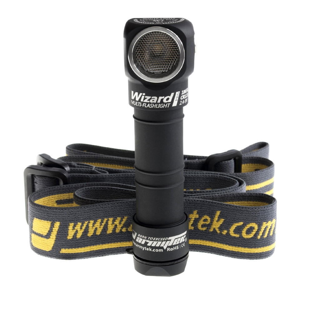 Armytek Wizard Pro V3 XHP50 USB - LED Stirnlampe kaltweiss