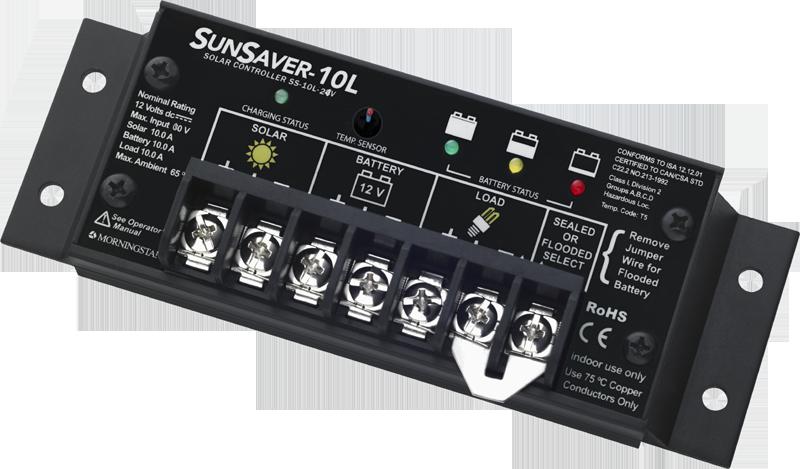 Morningstar SunSaver SS-10L-24V mit LVD