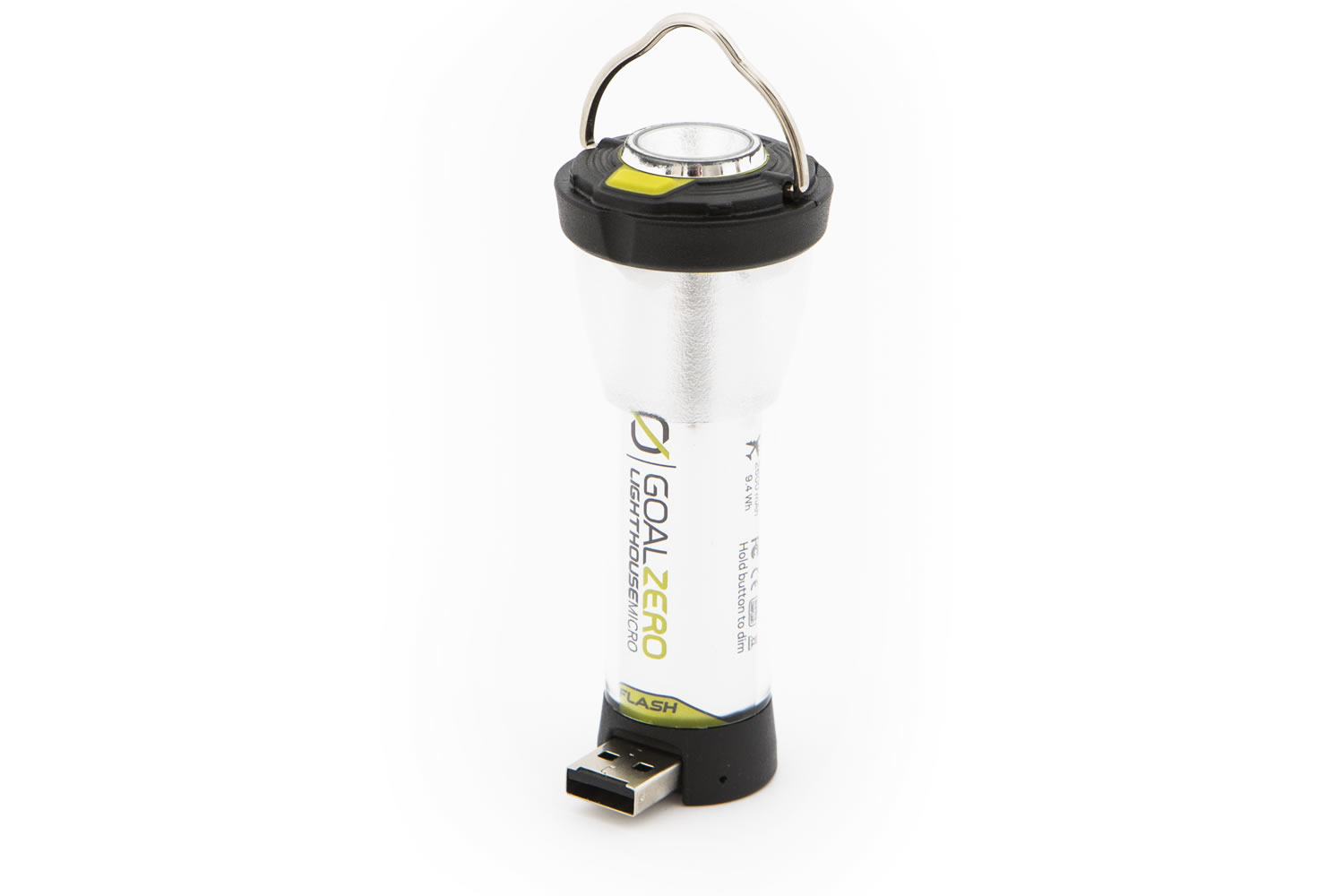 Lighthouse Micro Flash LED Laterne mit Taschenlampe
