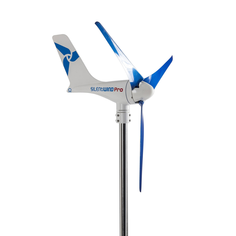 Silentwind Pro 12V Windgenerator ohne Hybrid-Laderegler