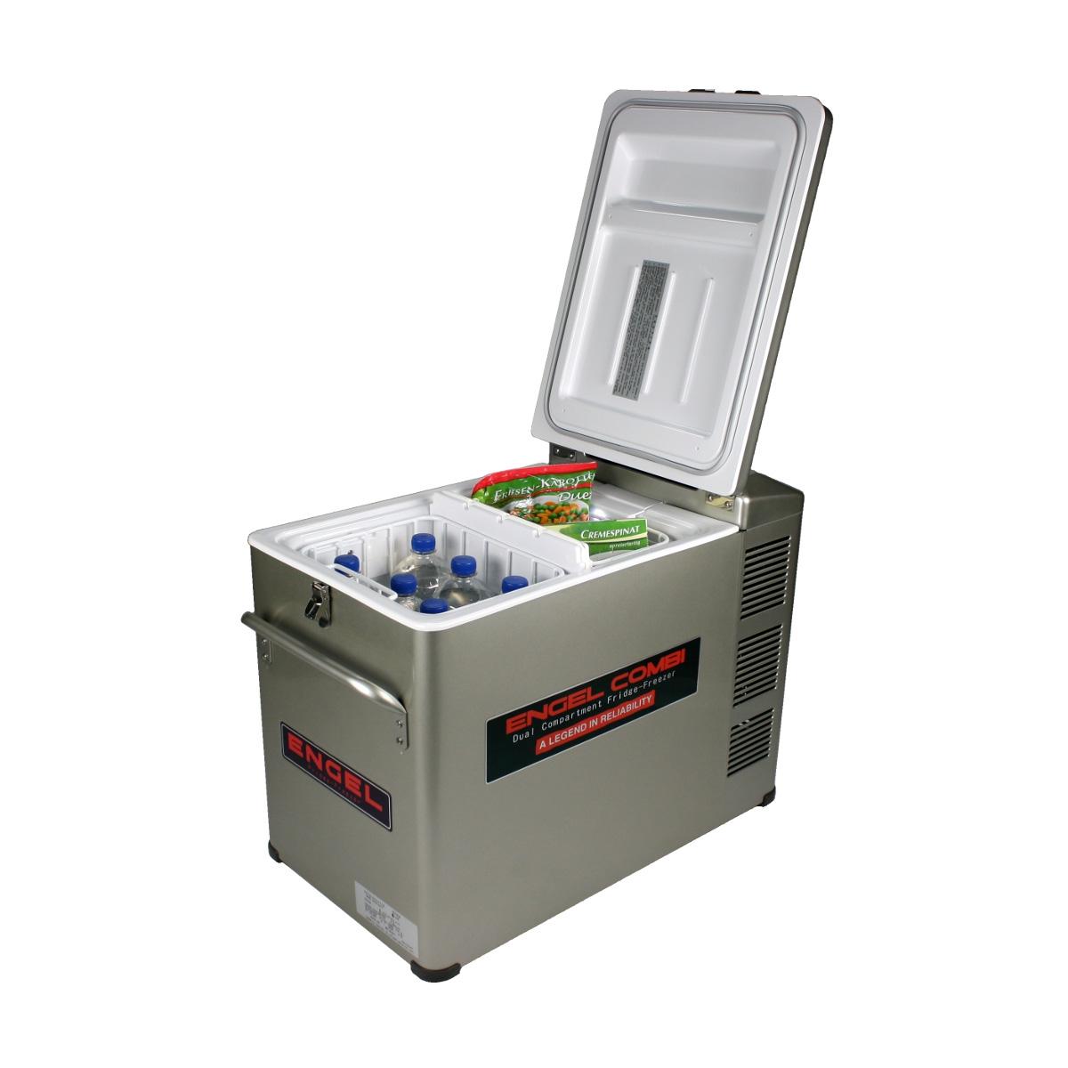 Engel Kombi-Kompressor-Kühlbox MD45F-CD-P, EEK: F