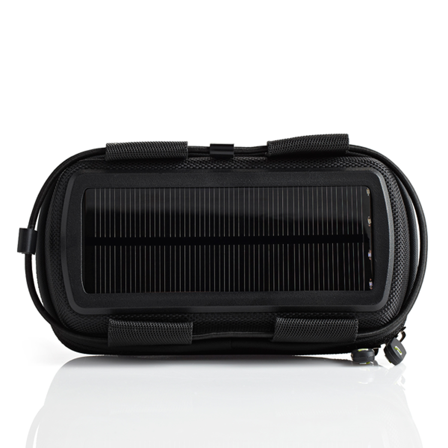 Rock Out 2 Solar - Stereolautsprecher mit Solarladung schwarz