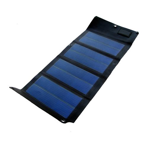 Powertec PT6 faltbares Solarmodul 6,5Wp mit 12V und USB