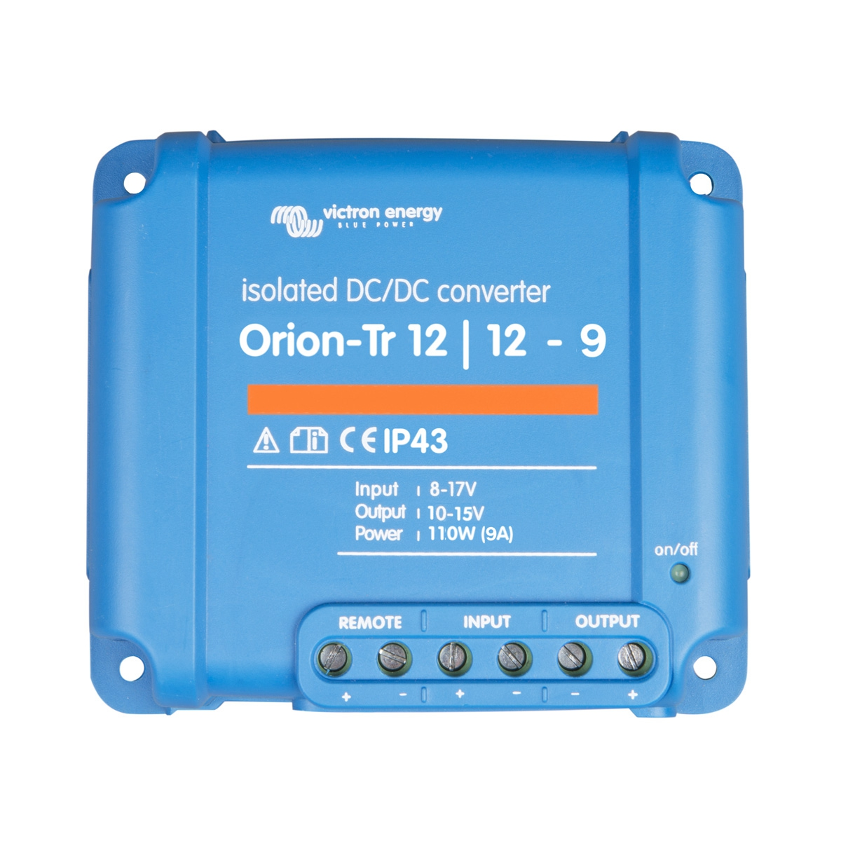 Orion TR 12-12 9A isolierter DC/DC Wandler