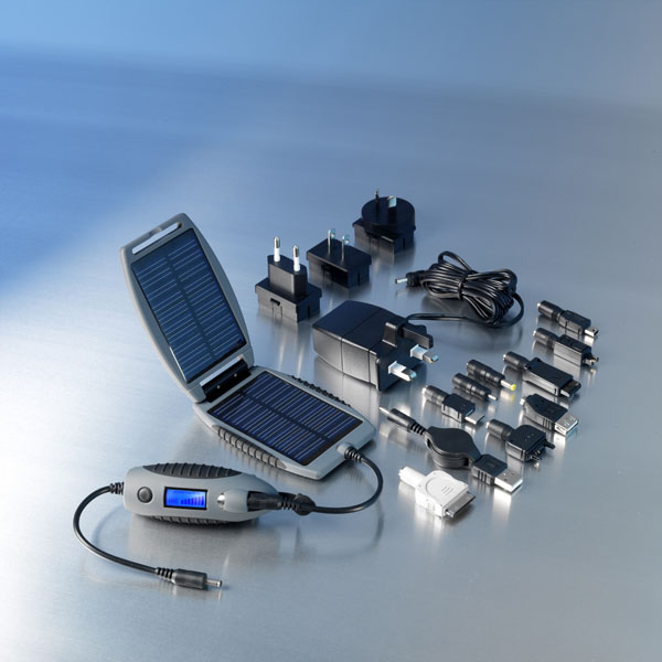 PowerTraveller Powermonkey eXplorer Handy Solarladegerät