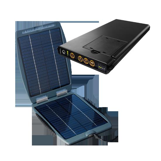 SUNLOAD M60 + Solargorilla Notebook Solarladegerät
