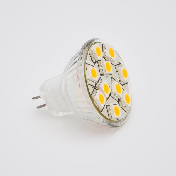 Green Power LED SMD-Spot GU4 2,5W 120°, EEK: A+