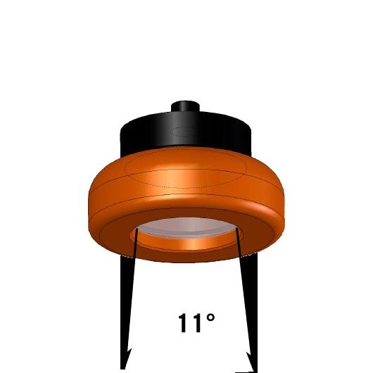 LED Lampe 3,6W mit 11 Grad Leuchtkegel