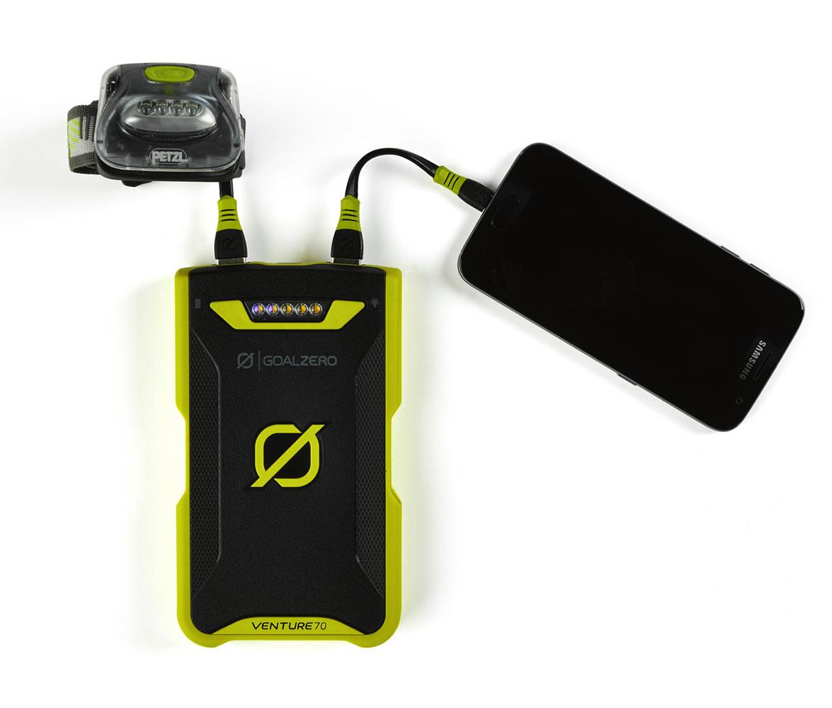 Goal Zero Venture 70 Recharger - Lightning + Micro USB