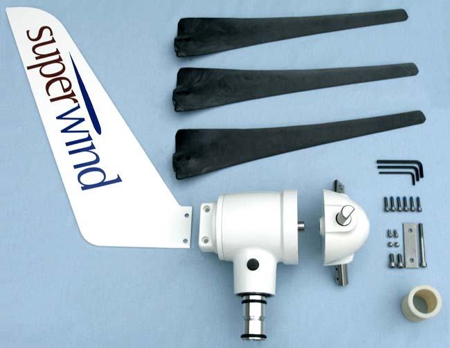 Superwind SW 350 Silent Power Windgenerator 12V