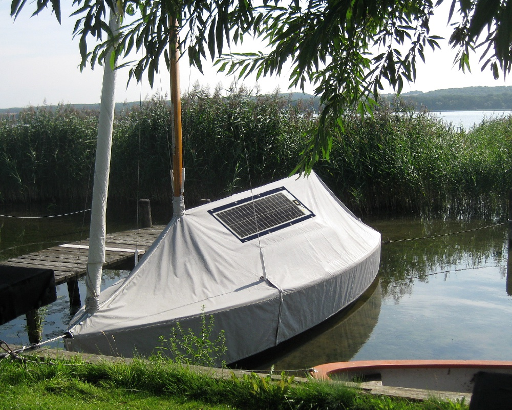 Sunware TX-12039 Solarmodul mit Textilrahmen 38Wp