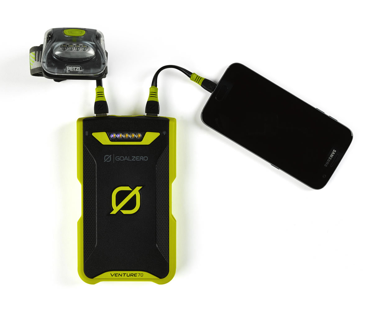 Venture 70 Solar Recharging Kit für Tablet und Smartphone