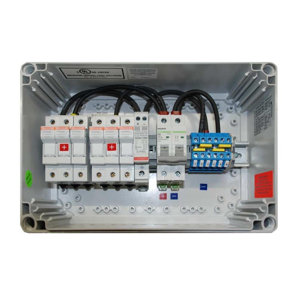 Generator-Anschlusskasten GCB8 für 8 Strings