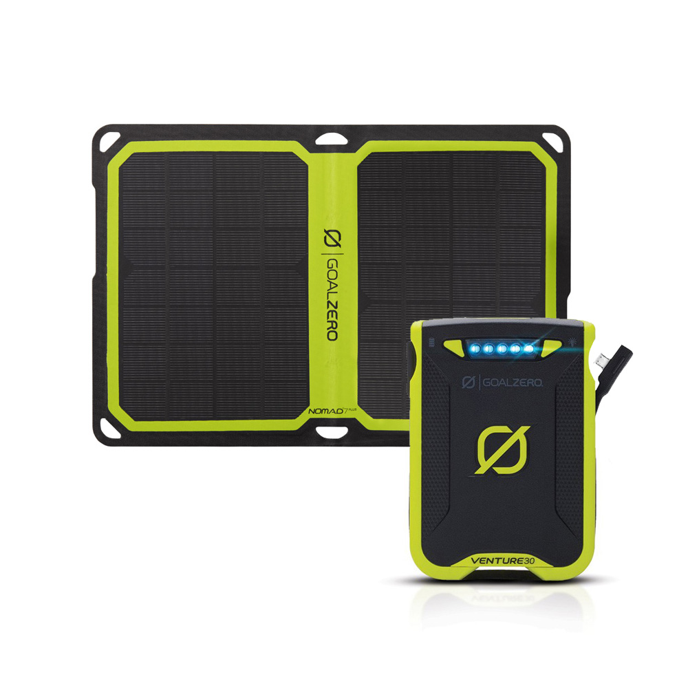 Venture 30 Solar Recharging Kit mit Nomad 7 PLUS
