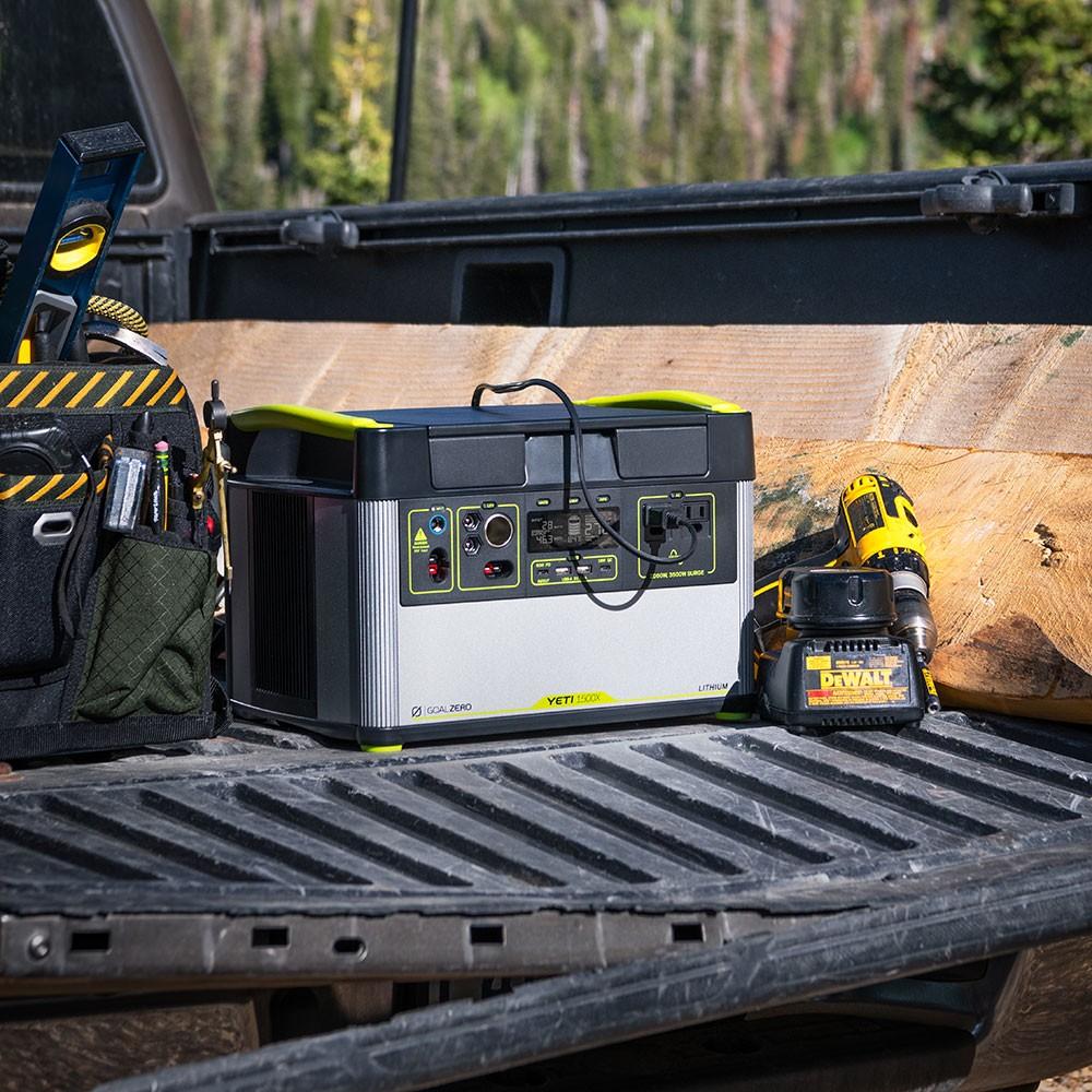 Yeti 1500X Kit mit Boulder 100 Briefcase
