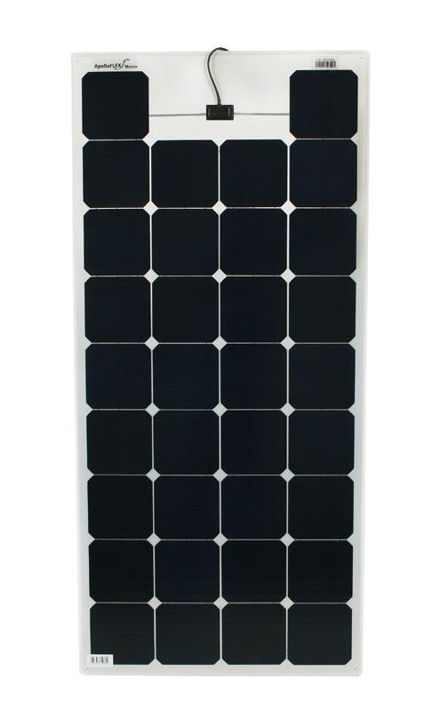 Semi-flexibles Solarmodul 100Wp