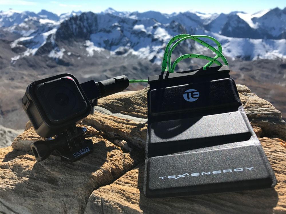 Texflex 3 - wasserdichter, flexibler USB-Akku 3.000mAh