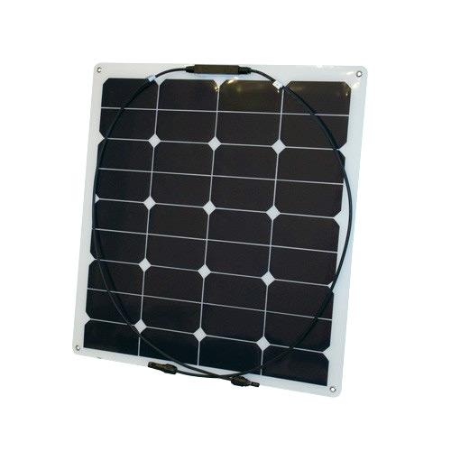 Semi Flex 55 - semiflexibles Solarmodul 55Wp
