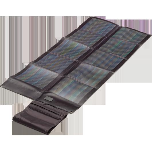 Faltbares Solarmodul CIGS 30Wp schwarz