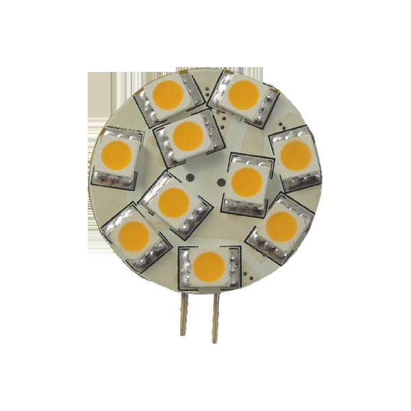Green Power LED 10 SMD-Modul G4 2,5W 120°, EEK: A+