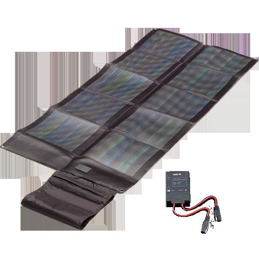 Faltbares CIGS Solarmodul 30Wp + Controller