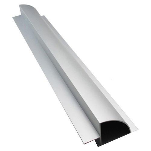 Aluminium Modul-Spoiler Set 50cm, silber